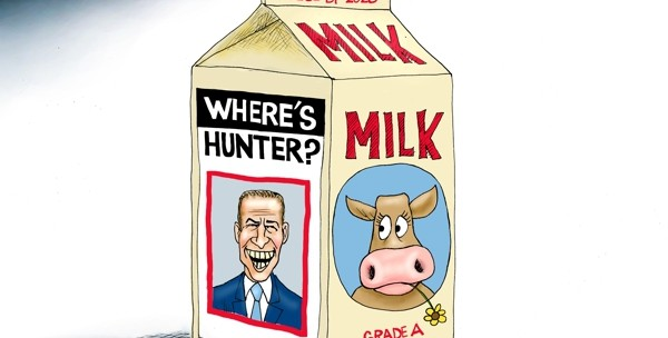 Cartoon: Milk Dud