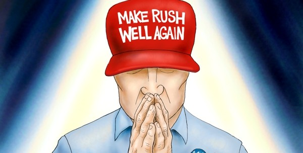 Cartoon: A Prayerful Moment