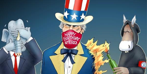 Cartoon: America's Freedoms Matter