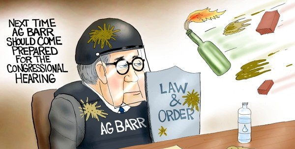 Cartoon: Hearing or Smearing?