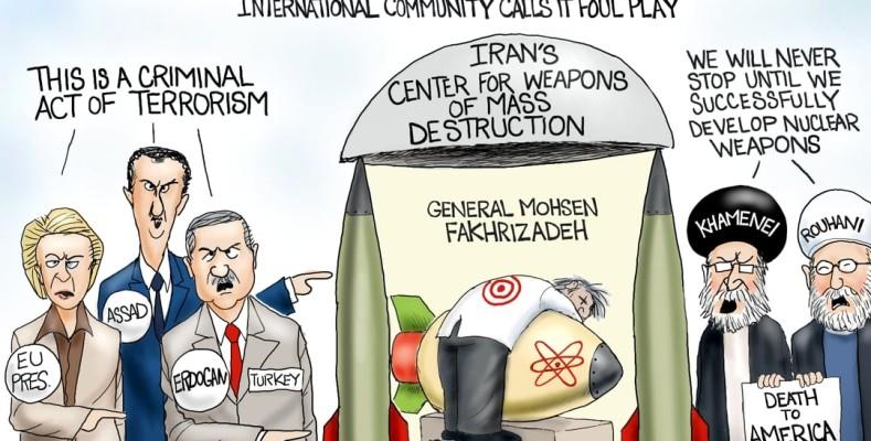 Cartoon: Killing Mohsen