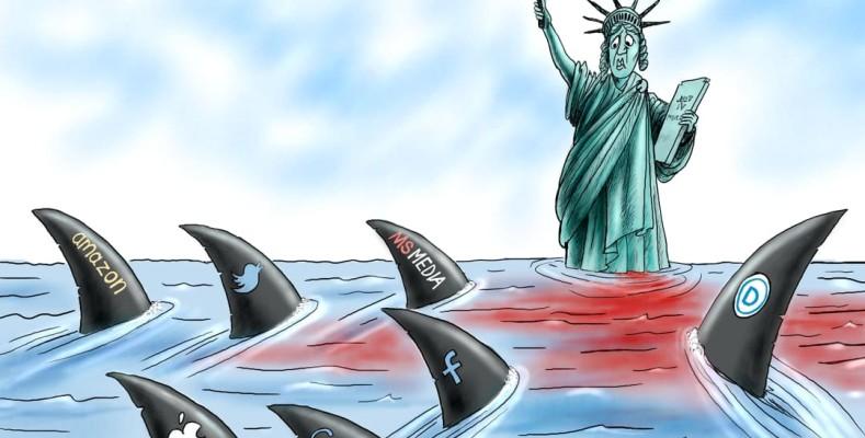 Cartoon: Shark Bait