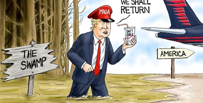 Cartoon: Parting Words