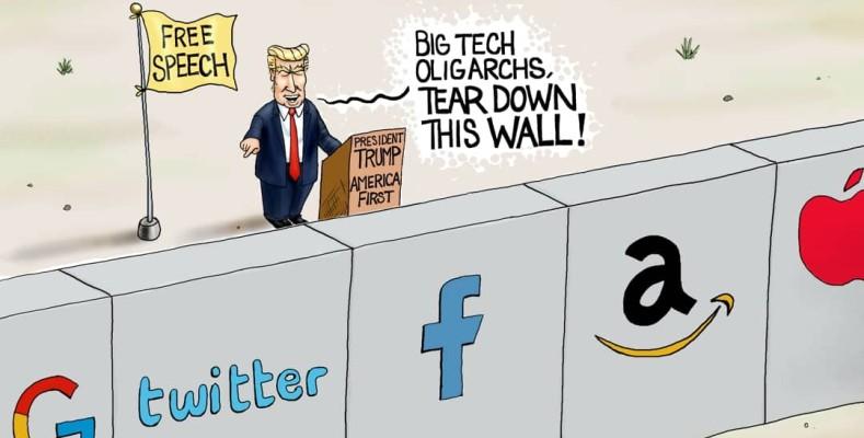 Cartoon: Wall of Silencing