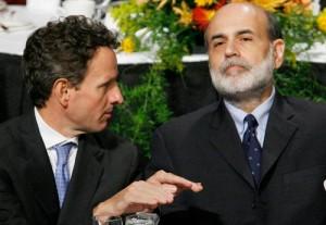 Tim Geithner and Ben Bernanke