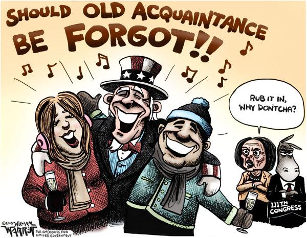 New Years Cartoon