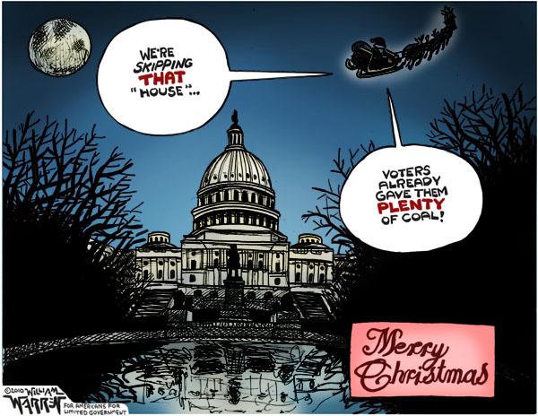 Santa Skips the Capitol