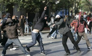 Debt Riots in Greece