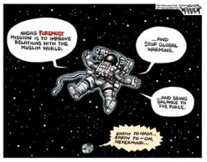 Earth to NASA