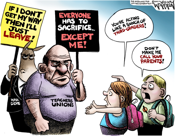 The Teachers Unions Are Acting Like Third Graders