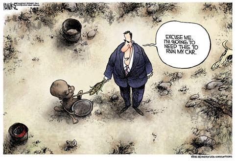 Ramirez Hunger Cartoon