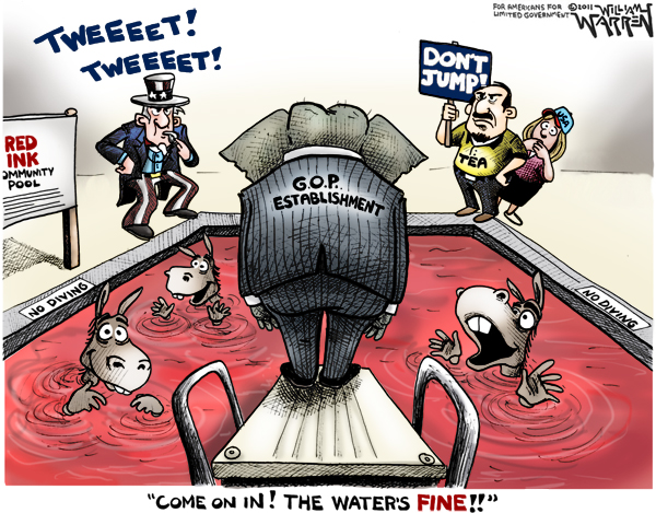 GOP Establishment Red Ink