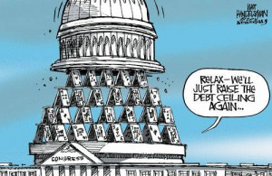 Relax About the Debt Ceiling Cartoon