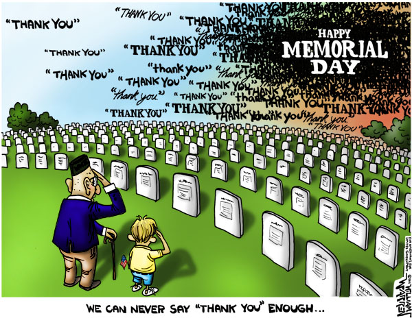 We Can Never Say Thank You Enough