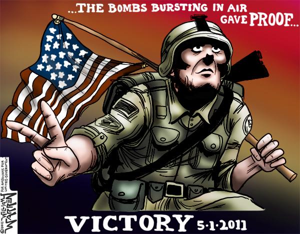 Victory over Osama Bin Laden