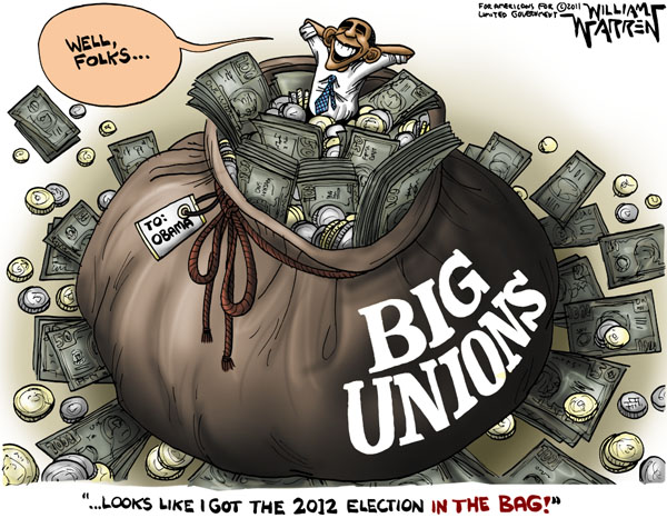 Big Labor Is In The Bag