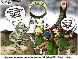 The Tea Party Hobbits
