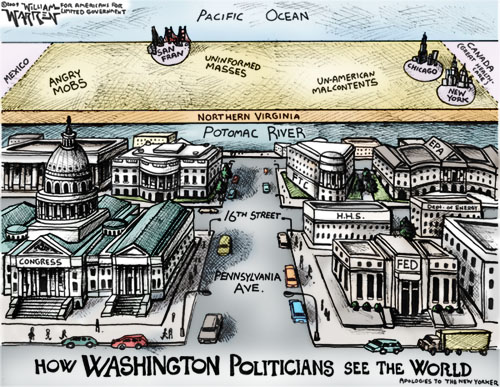 How Washington Politicians See the World