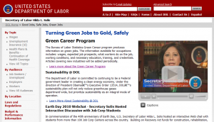Labor Department's green folly