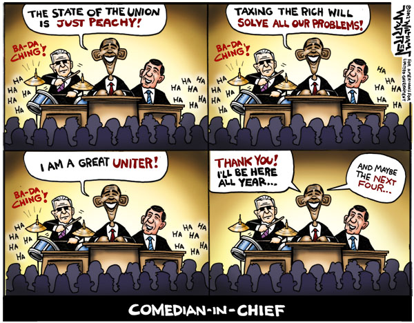 Comedia-in-Chief