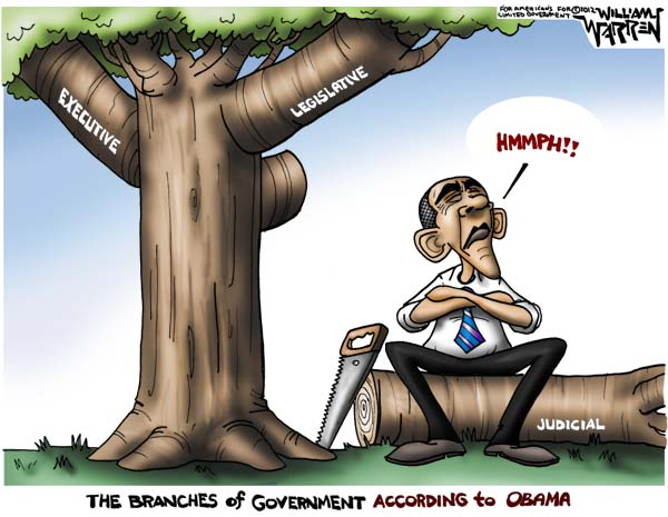 Obama's Branches of Government