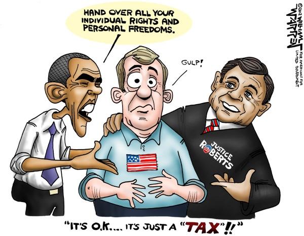It's a tax