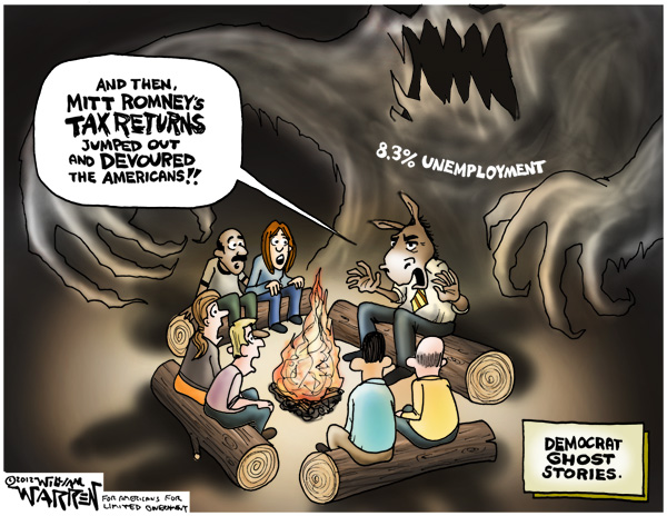 Democrat Ghost Stories