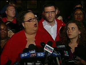 Karen Lewis President of the Chicago Teachers Union