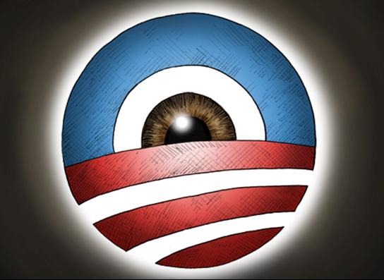 obama surveillance eye