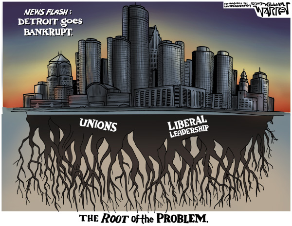 Cartoon - Root of the Problem - 600