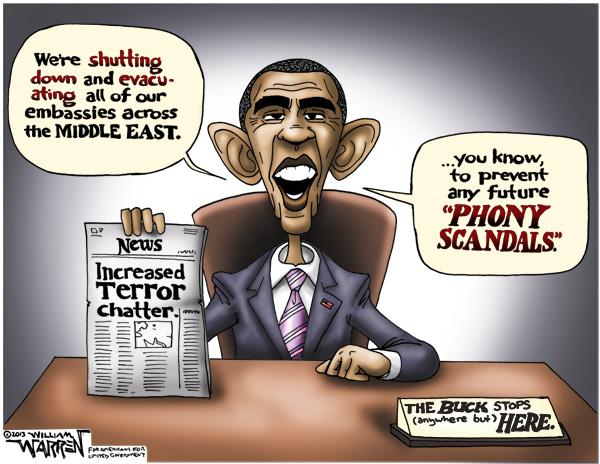 Cartoon - Phony Scandals - 600