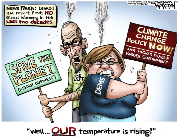 Cartoon - Temperature Rising - 600