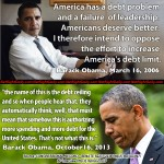 Obama on Raising the Debt Ceiling 2006 vs 2013