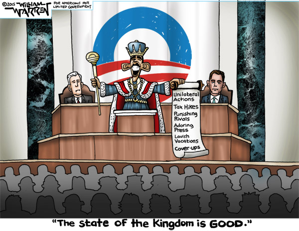 Cartoon - State of the Kingdom - 600