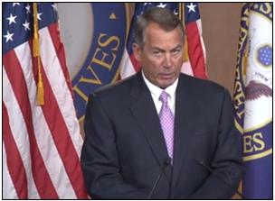 boehner with purple tie