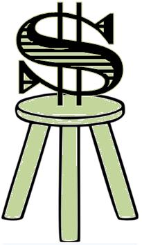 dollar sign on pedestal