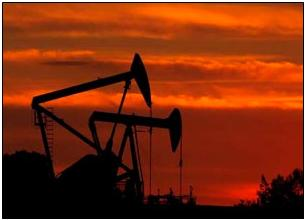 two oil wells