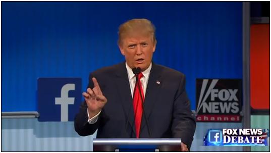trump at fox debate