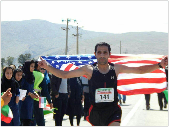 IranianRunnerAmericanFlag