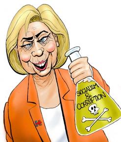 HillarySocialismCorruption